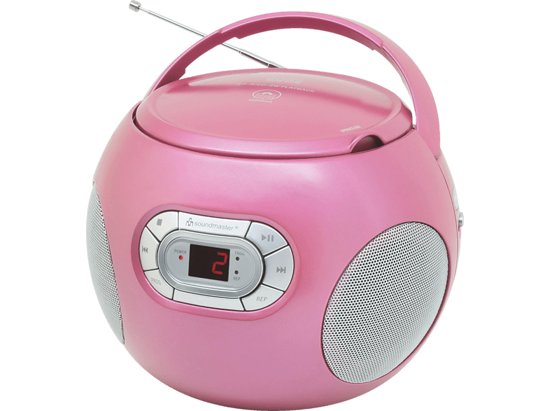 SOUNDMASTER SCD2120PI CD Radio (Pink)