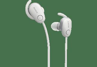 SONY WI-SP600N, In-ear Kopfhörer Bluetooth Weiß
