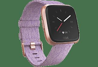 FITBIT Smartwatch Versa Special Edition, lavendel gewoben/aluminium-rosegold (FB505RGLV-EU)