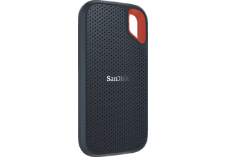 SANDISK Extreme® Portable SSD, 2 TB SSD, 2,5 Zoll, extern, Grau