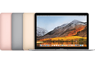 APPLE MacBook mit US-Tastatur, Notebook mit 12 Zoll Display, Core i7 Prozessor, 8 GB RAM, 256 GB Flash, Intel® HD-Grafik 615, Silber