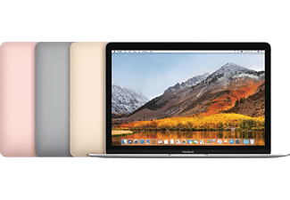 APPLE MNYH2D/A MacBook, Notebook mit 12 Zoll Display, Core™ m3 Prozessor, 8 GB RAM, 256 GB SSD, Intel® HD-Grafik 615, Silber