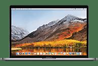 APPLE MacBook Pro mit Touch Bar und deutscher Tastatur, Notebook mit 15.4 Zoll Display, Core i7 Prozessor, 16 GB RAM, 512 GB SSD, Radeon Pro 560 (+ Intel Graphics 630 automatisch umschaltend), Space Grey