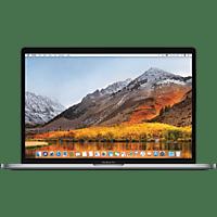 APPLE MPTR2D MacBook, Notebook mit 15.4 Zoll Display, Core i7 Prozessor, 16 GB RAM, 512 GB SSD, Radeon™ Pro 555, Space Grey