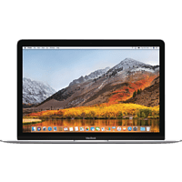 APPLE MacBook mit deutscher Tastatur, Notebook mit 12 Zoll Display, Core i5 Prozessor, 8 GB RAM, 256 GB Flash, Intel® HD-Grafik 615, Silber