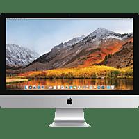 APPLE iMac mit britischer Tastatur, All-In-One-PC mit 27 Zoll Display, Core i5 Prozessor, 64 GB RAM, 1 TB Flash, Radeon™ Pro 575, Silber