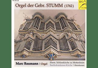 Marc Baumann - Orgel der Gebr.Stumm  - (CD)