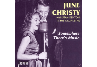 Christy, June / Kenton, Stan & His Orchestra - Somewhere There's Music  - (CD)