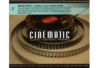 VARIOUS - Cinematic: Classic Film Music Remixed  - (CD)