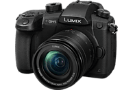 PANASONIC Lumix DC-GH5 Systemkamera 20.3 Megapixel mit Objektiv 12-60 mm , 8 cm Display   Touchscreen, WLAN