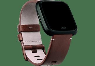 FITBIT FB166LBDBS VERSA BAND LEATHER COGNAC SMALL, Ersatz-/Wechselarmband, Fitbit, Cognac