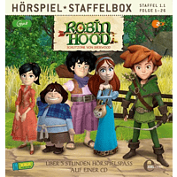 Robin Hood-schlitzohr Von Sherwood - Staffelbox (Staffel 1.1,Folge 1-26) - (MP3-CD)