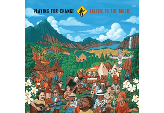 Playing For Change - Listen To The Music  - (CD)