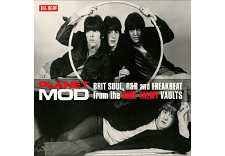 VARIOUS - Planet Mod-Brit Soul And R&B (180 Gr.Red 2LP)  - (Vinyl)