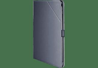 TUCANO Minerale Folio Tablethülle Bookcover für Apple Metal Brush Kunststoff, Space grey