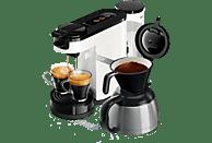 PHILIPS Kaffeemaschine 2-in-1 HD6592/00 Senseo Switch, weiß