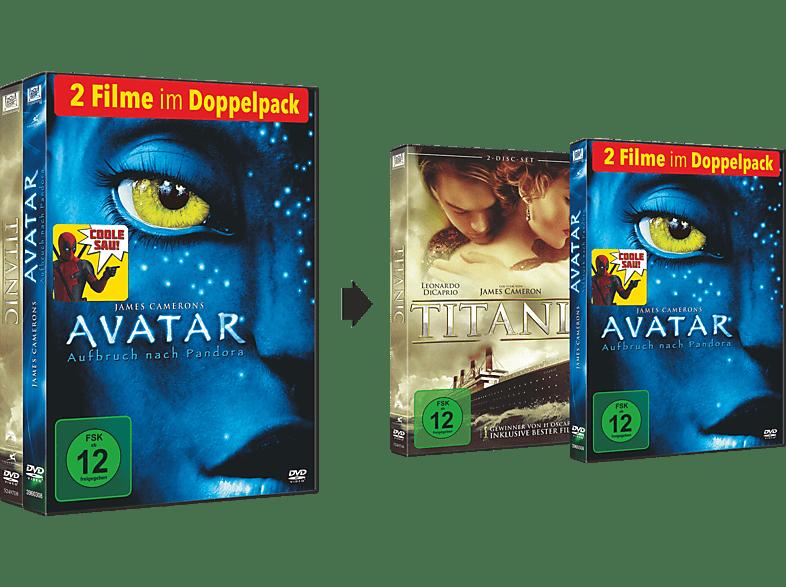 Titanic & Avatar [DVD]