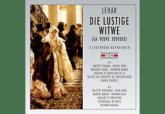 VARIOUS, Choeurs Et Orchestre De La Societe Des Concerts Du Conservatoire, Choeurs Et Orchestre Symphonique De Paris - Die Lustige Witwe (La Veuve Joyeuse)  - (CD)