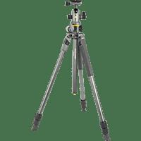 VANGUARD ALTA PRO 2+ 263AB 100 Dreibein Stativ, Grau, Höhe offen bis 1734 mm