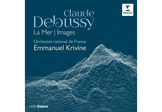 Emmanuel Krivine, Orchestre National De France - La Mer,Images  - (CD)