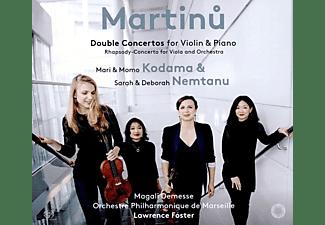Kodama/Kodama/Nemtan - Doppelkonzerte für Violine & Piano  - (SACD)
