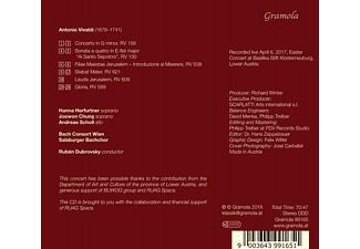 Hanna Herfurtner, Joowon Chung, Bach Consort Wien, Salzburger Bachelor - Stabat Mater/Gloria  - (CD)