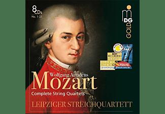 VARIOUS, Leipziger Streichquartett - Sämtliche Streichquartette  - (CD)