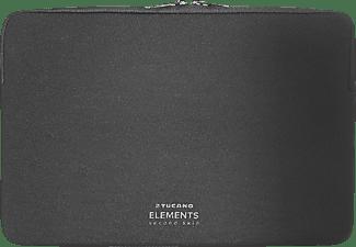 TUCANO ELEMENTS Second Skin Notebooktasche Sleeve für Apple Lycra, Schwarz