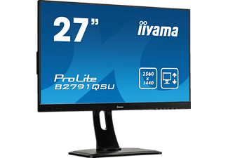 IIYAMA PROLITE B2791QSU-B1 27 Zoll WQHD Monitor (1 ms Reaktionszeit, 75 Hz)