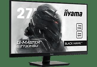 IIYAMA G-MASTER G2730HSU-B1 27 Zoll Full-HD Gaming Monitor (1 ms Reaktionszeit, 75 Hz)