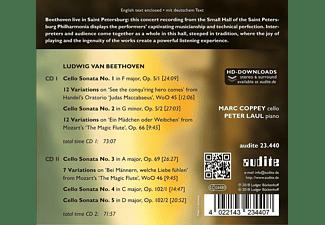 Marc Coppey, Peter Laul - Die Werke für Cello & Klavier  - (CD)