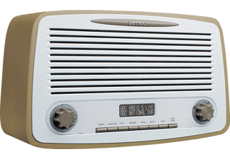 LENCO DAR-012TP Radio, Digital, FM, DAB+, BluetoothJa, Taupe