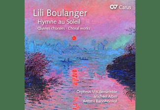 Orpheus Vokalensemple, Michael Alber - Hymne au Soleil-Chorwerke  - (CD)