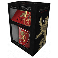 EMPIRE Game of Thrones - Lannister - Geschenk-Set Geschenkbox, Mehrfarbig