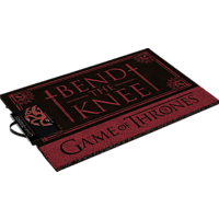 PYRAMID INTERNATIONAL Game of Thrones Fußmatte Bend the Knee Fußmatte, Schwarz/Rot