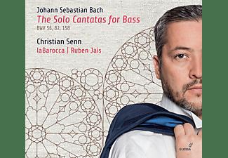 Christian Senn - Die Kantaten für Bass solo  - (CD)