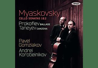 Gomziakov Pavel, Andrei Korobeinikov - Werke für Cello  - (CD)