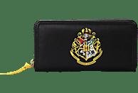 HALF MOON BAY Harry Potter Geldbeutel Hogwarts Logo Geldbeutel, Schwarz