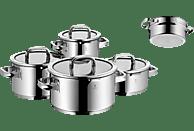 WMF 0761056380 Function 4 Topf-Set (Cromargan® Edelstahl Rostfrei 18/10 poliert, Silikon)