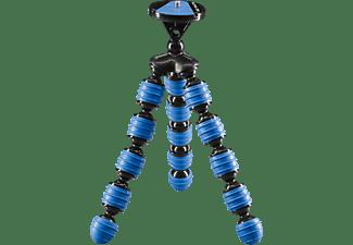 CULLMANN 50024 ALPHA 350 mobile Dreibein Mini-Stativ, Blau, Höhe offen bis 230 mm