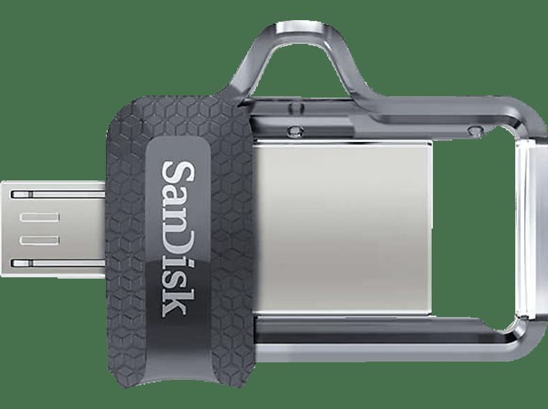 SANDISK Ultra Dual USB-Laufwerk m3.0, 32 GB USB Stick, GB, 150 MB s