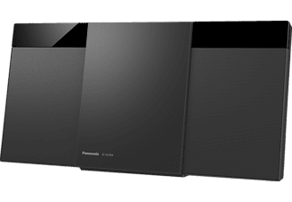 PANASONIC SC-HC304EG-K Kompaktanlage (Schwarz)