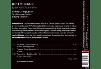 Gislinge/Esbjerg Ensemble/Stenhammar Quartet - Rosenbad/Pantomime  - (CD)