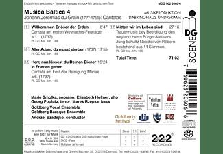 Andr./Goldberg Baroque Ensemble Solisten/szadejko - Sacred Cantatas-Musica Balitca 4  - (SACD Hybrid)