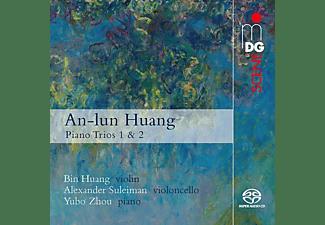 Huang,Bin/Suleiman,Alexander/Zhou,Yubo - Piano Trios 1 & 2  - (SACD Hybrid)