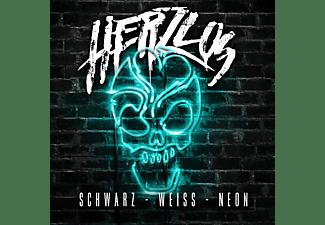 Herzlos - Schwarz Weiß Neon (Fanbox)  - (CD)