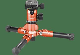 CULLMANN 55432 MUNDO 518 Smartkit Dreibein Stativ, Orange, Höhe offen bis 525 mm