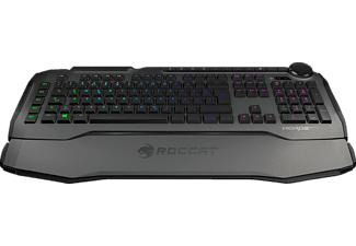 ROCCAT Horde AIMO Membranical, Gaming Tastatur, Rubberdome