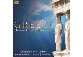 Vasilis Skoulas, Terzis Michalis - A Tribute To Greece  - (CD)