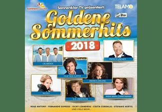 VARIOUS - sonnenklar.TV präs.Goldene Sommerhits 2018  - (CD)